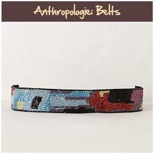 """Anthro """"Montmartre Beaded Belt"""""""